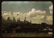 [Houses and factories] Stock Photos