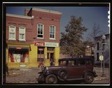 [Shulman's Market at the southeast corner of N Street and Union Street S.W.,  Stock Photos