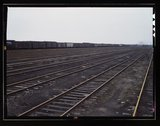 Tracks at Proviso yard of C & NW RR, Chicago, Ill. Stock Photos
