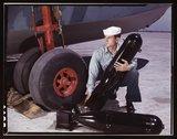 J.D. Estes at the Naval Air Base, Corpus Christi, Texas Stock Photos
