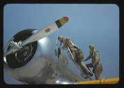 Aviation cadets at the Naval Air Base, Corpus Christi, Texas Stock Photos