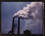 Smoke stacks Stock Photos