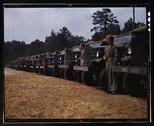 New River Marine Base, motor detachment, North Carolina Stock Photos