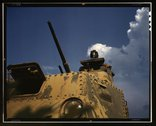 Tank commander, Ft. Knox, Ky. Stock Photos