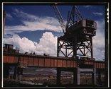 Construction at TVA's Douglas Dam, Tenn. Stock Photos