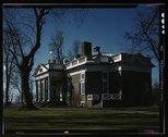 Monticello, home of Thomas Jefferson, Charlottesville, Va. Stock Photos