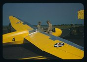 Marine glider at Page Field, Parris Island, S.C. Stock Photos
