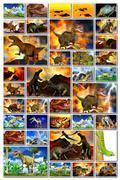 Dinosaur doomsday Stock Illustration