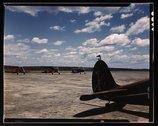Civil Air Patrol Base, Bar Harbor, Maine. Flying field of Coastal Patrol #20 Stock Photos