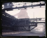 Hanna furnaces of the Great Lakes Steel Corporation, Detroit, Mich Stock Photos