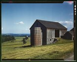 Farmland in the Catskill country, in New York State Stock Photos