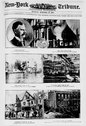 Scenes from Paterson N.J., illustrating the several catastrophes which she ha Stock Photos