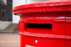 Red london postbox Kuvituskuvat