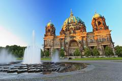 Berlin cathedral (berliner dom), germany Stock Photos
