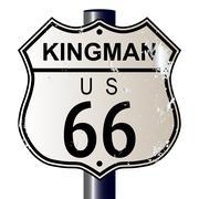 Kingman route 66 sign Piirros