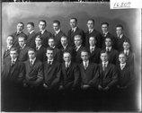 Miami University Alpha Delta Sigma chapter 1917 Stock Photos