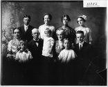 E. R. McDill family portrait 1912 Stock Photos