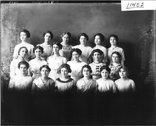 Pi Delta Kappa group portrait 1912 Stock Photos