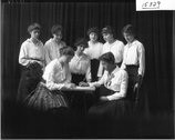 Western College Oxford Board 1916 Stock Photos