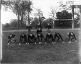 Miami University football team in 1916 Stock Photos