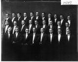 Miami University Glee Club 1915 Stock Photos