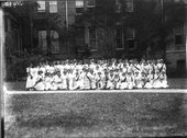 Western College on Tree Day 1912 Stock Photos
