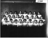 Western College Glee Club 1913 Stock Photos