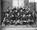Oxford High School football team 1915 Stock Photos