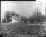 Sigma Chi house and Kumler site 1912 Stock Photos
