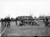 Action at Miami University football game 1912 Stock Photos