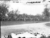 Spectators at Miami University football game 1922 Stock Photos