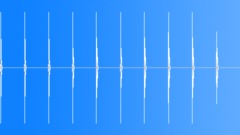 Knock on wood - clockworks 3 - 1 sec ticks one pitch lower - 10 sec loop Sound Effect