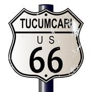Tucumcari route 66 sign Piirros