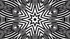 Kaleidoscope video clip Stock Footage
