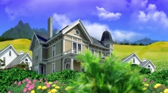 Ecology in architecture Stock Footage