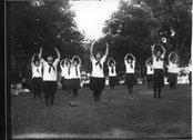Dancers in Summer School Play Festival 1912 Stock Photos