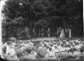 Colburn Players performing on stage 1911 Stock Photos