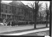Procession in front of Oxford College at D.A.R Stock Photos