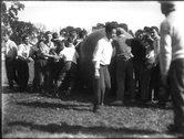 Push ball competition at Miami University freshman-sophomore contest 1911 Stock Photos
