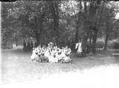 Western College on Tree Day 1911 Stock Photos
