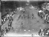 Parade on High Street at Oxford Street Fair 1913 Stock Photos
