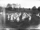 Performers at Oxford Public School May Day celebration 1913 Stock Photos