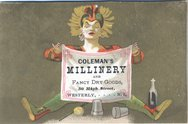 Coleman's Millinery and Fancy Dry Goods Stock Photos
