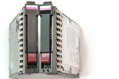 Pair of server hard drives Kuvituskuvat