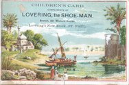 Lovering the Shoe-Man Stock Photos