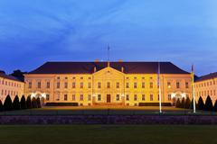 Bellevue palace in Berlin, Germany Stock Photos