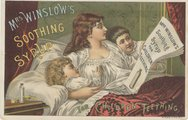 Mrs. Winslow's Soothing Syrup Stock Photos