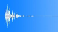plastic blocks impact hard multiple 02 - sound effect