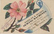 Wheeler & Wilson Sewing Machines Stock Photos