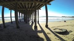 Ventura Pier Time Lapse 4K (3840x2160) Stock Footage